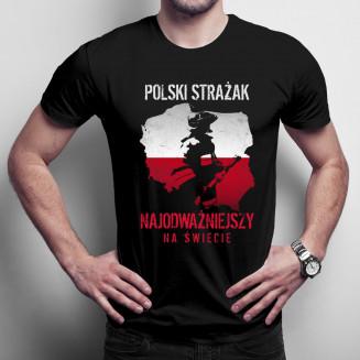 Polski strażak - męska...