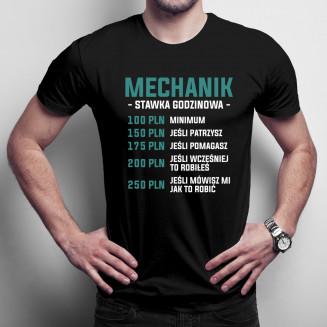 Mechanik - stawka godzinowa...
