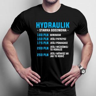 Hydraulik - stawka...