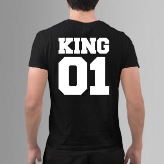 KING 01 - męska koszulka na...