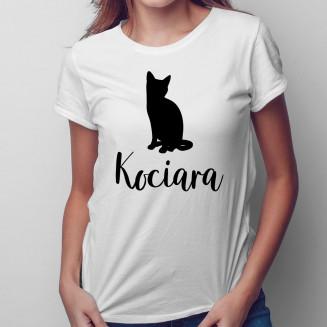 Kociara - damska koszulka...