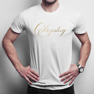 Chrzestny - męska koszulka...