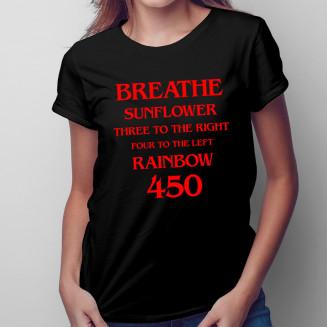 Breathe - damska koszulka...
