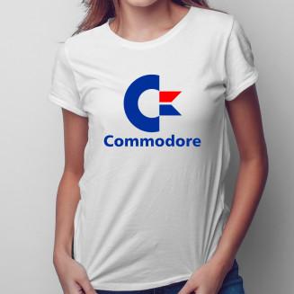 Commodore - damska koszulka...