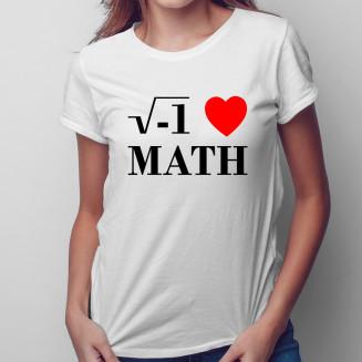 I love math - damska...