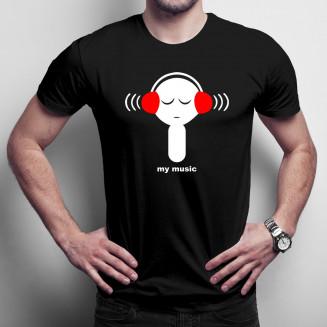 My Music - męska koszulka...