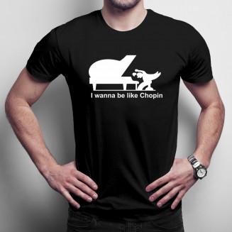 Chopin - męska koszulka na...