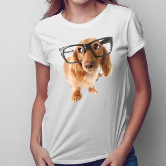Szczeniak w okularach -...