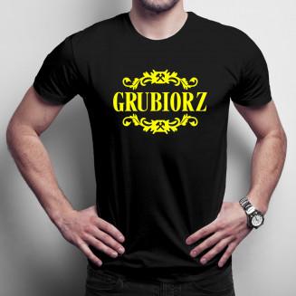 Grubiorz - męska koszulka...