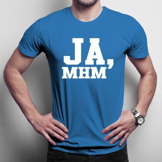 Ja, mhm - męska koszulka na...