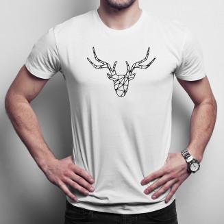 Jeleń - męska koszulka na...
