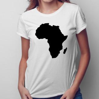 Africa - damska koszulka na...