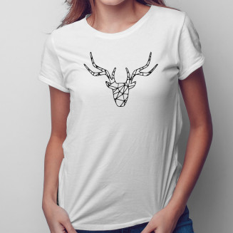 Jeleń - damska koszulka na...