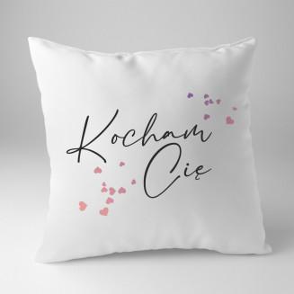 Kocham Cię - poduszka na...