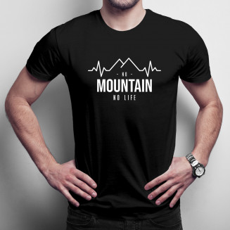 No mountain no life - męska...
