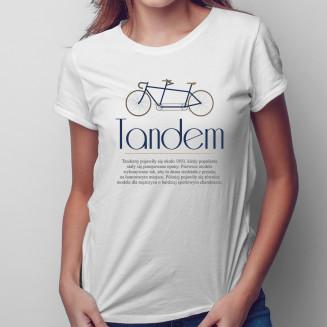 Tandem - damska koszulka na...