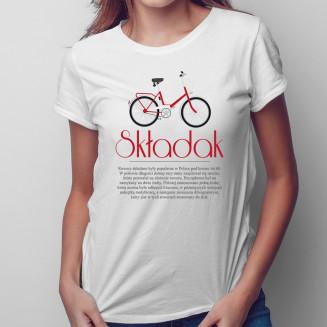 Składak - damska koszulka...
