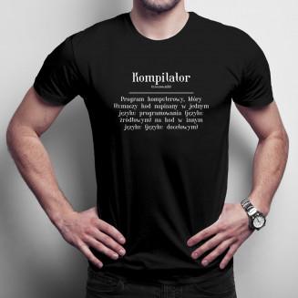 Kompilator - męska koszulka...