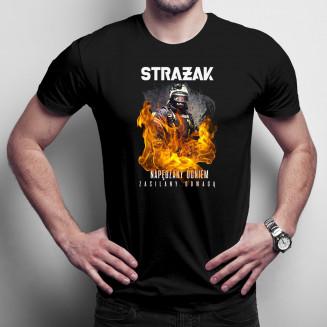Strażak - napędzany siłą,...
