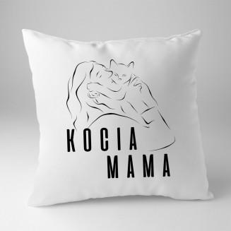 Kocia mama - poduszka na...
