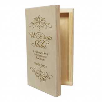 W dniu ślubu - pudełko na...